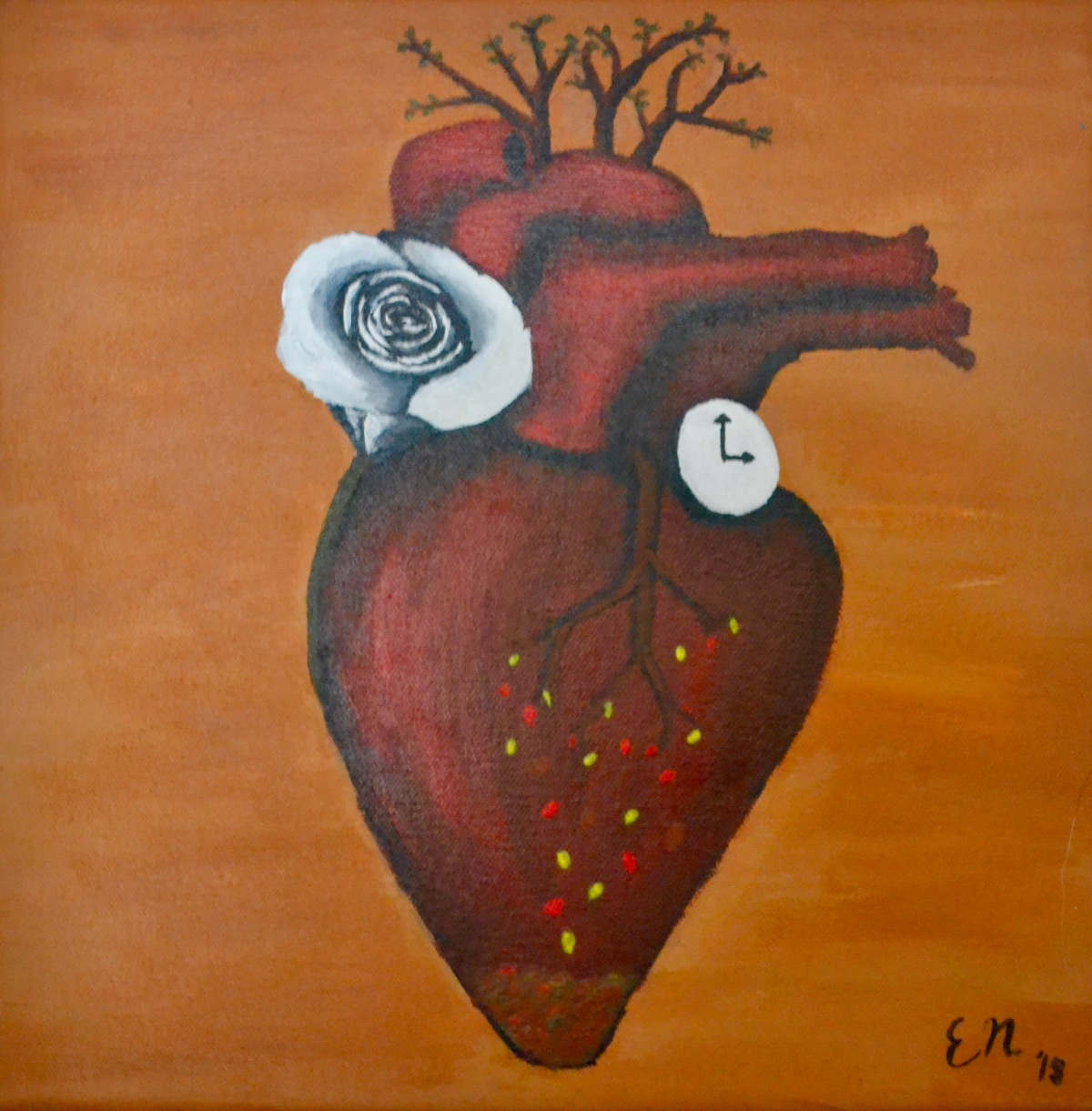The Beating Heart Painting